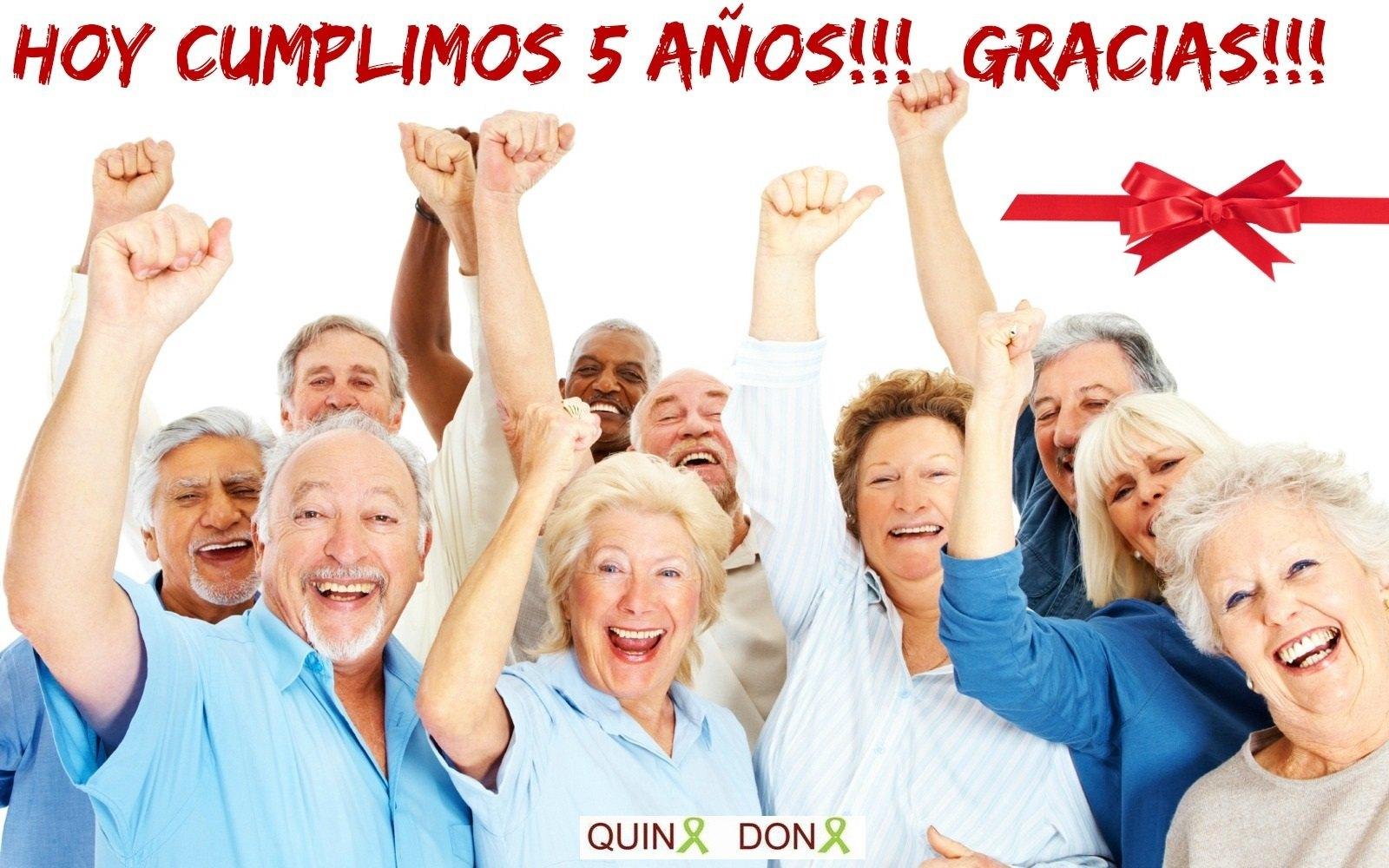 5º ANIVERSARIO DE QUINA DONA ¡¡GRACIAS!!
